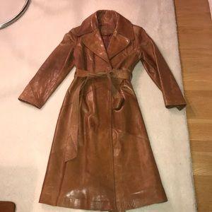 Vintage Napa Y Ante Skin Gear full  leather jacket